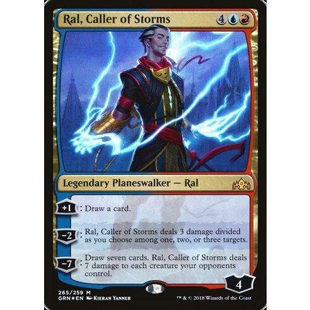 Ral, Caller of Storms - Foil - Planeswalker Deck Exclusive