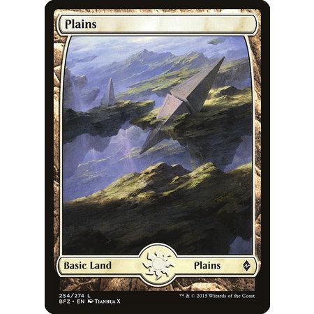 Plains (254) - Full Art - Foil (Japanese)