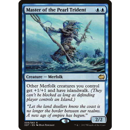 Master of the Pearl Trident