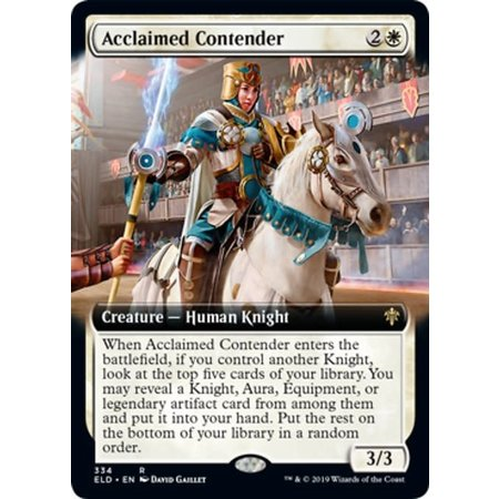 Acclaimed Contender - Foil