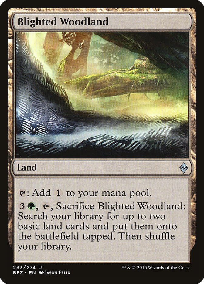 Blighted Woodland - Foil