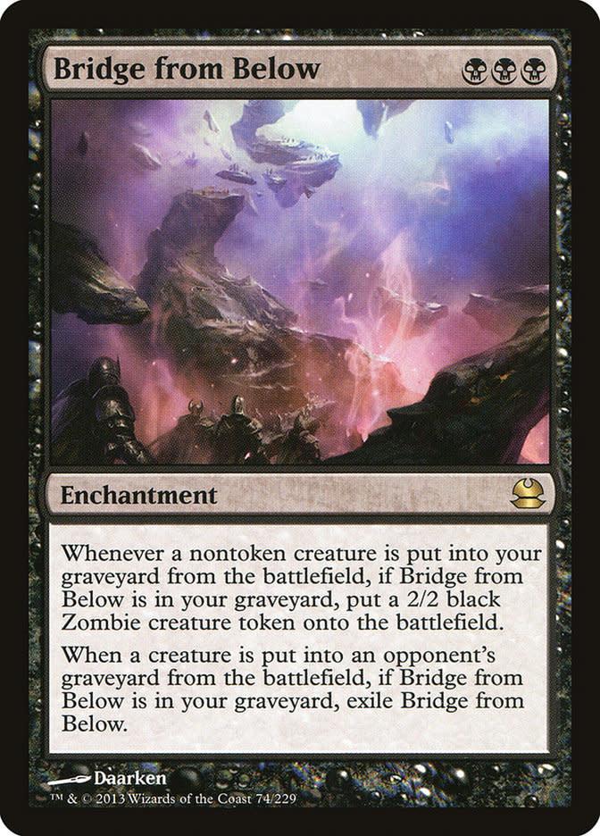 Bridge from Below - Foil