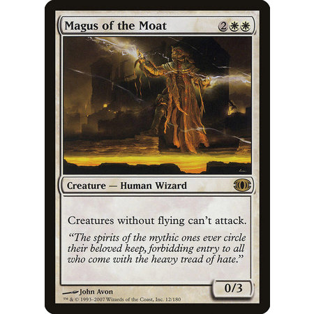 Magus of the Moat (Italian)