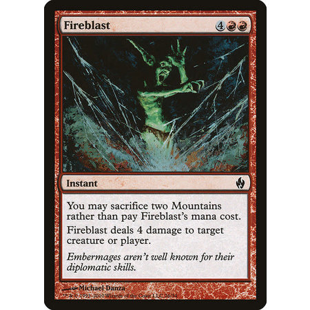 Fireblast - Foil