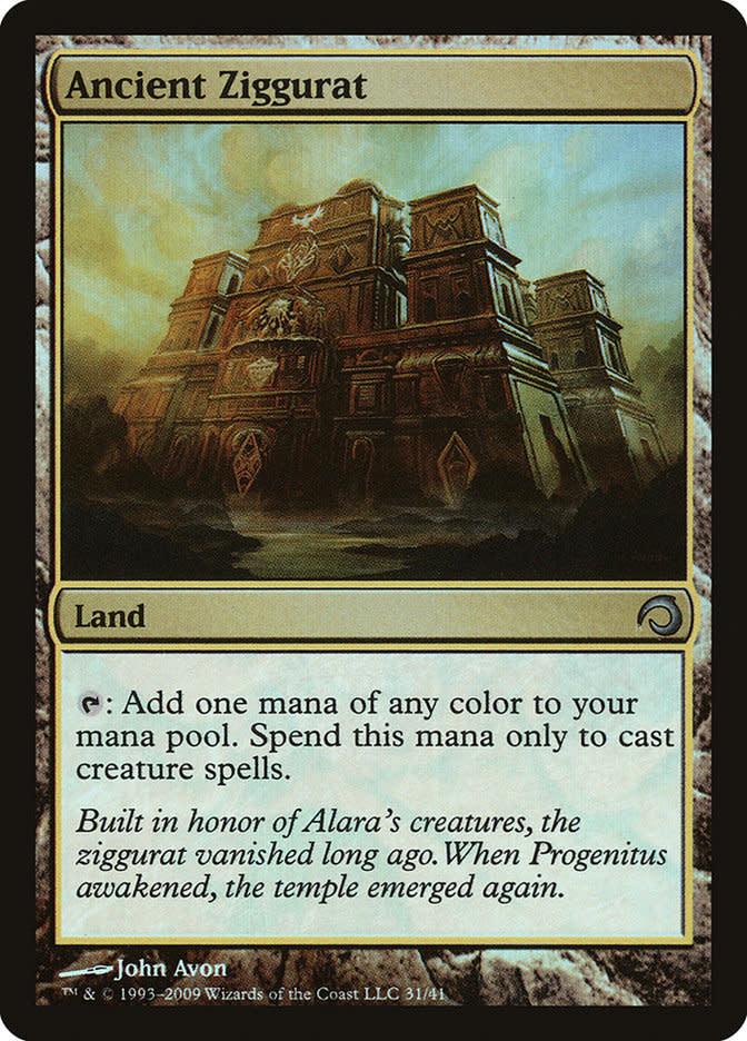 Ancient Ziggurat - Foil
