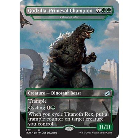 Titanoth Rex (Godzilla, Primeval Champion)