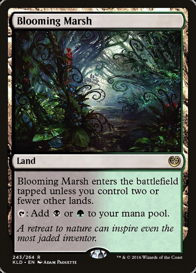 Blooming Marsh - Foil