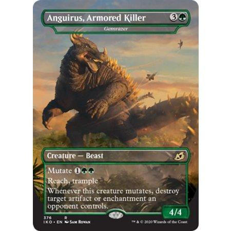 Gemrazer (Anguirus, Armored Killer) - Foil