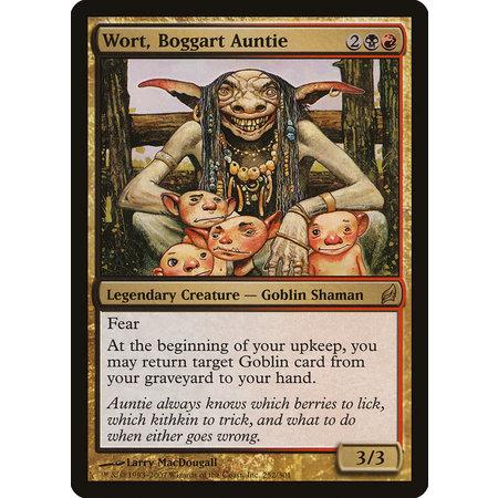 Wort, Boggart Auntie