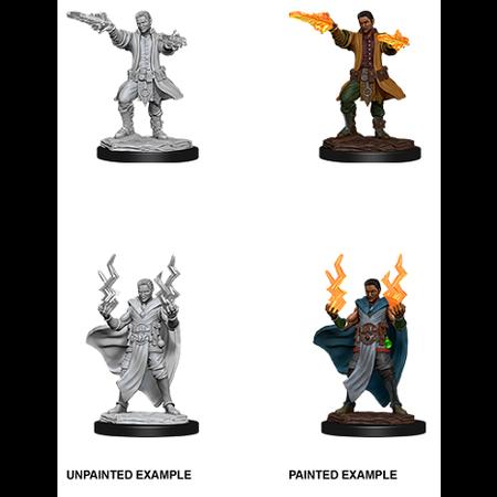 D&D Unpainted Minis - Human Sorcerer (Male)