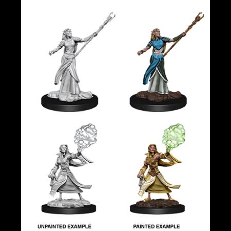 D&D Unpainted Minis - Elf Sorcerer (Female)