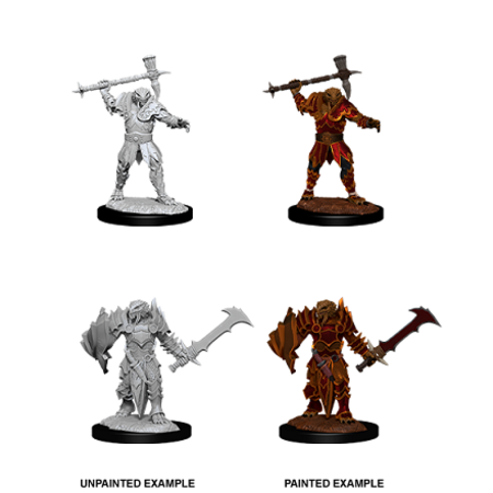 D&D Unpainted Minis - Dragonborn Paladin (Male)