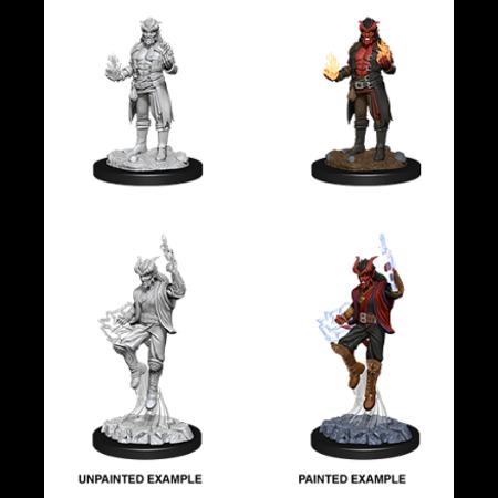 D&D Unpainted Minis - Tiefling Sorcerer (Male)