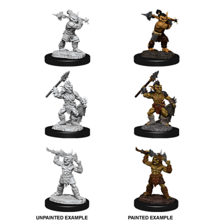 D&D Unpainted Minis - Goblins and Goblin Boss