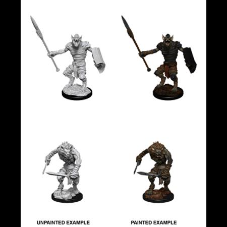 D&D Unpainted Minis - Gnoll / Gnoll Flesh Gnawer