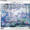 1000 - Waterlilies (Monet)
