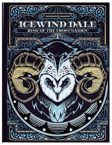 PREORDER - Dungeons and Dragons 5th Edition RPG:  Icewind Dale: Rime Of The Frostmaiden - Hobby Edition