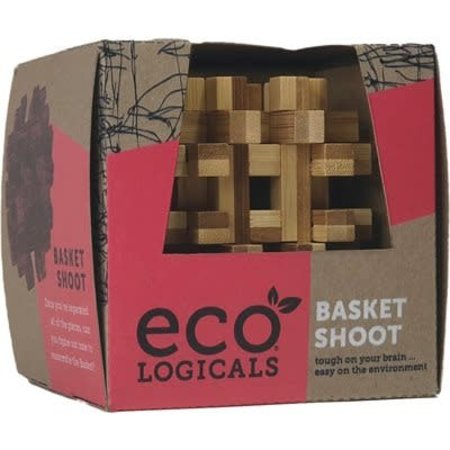 Bamboo Logic Puzzle - Basket Shoot