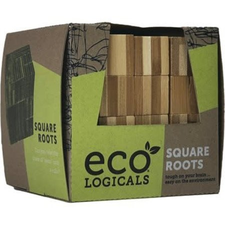 Bamboo Logic Puzzle - Square Roots