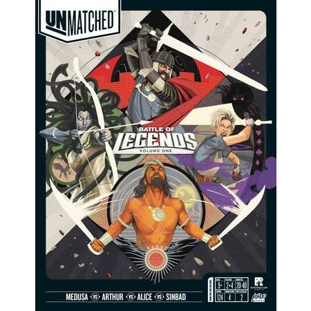 Unmatched Battle of Legends - Volume One