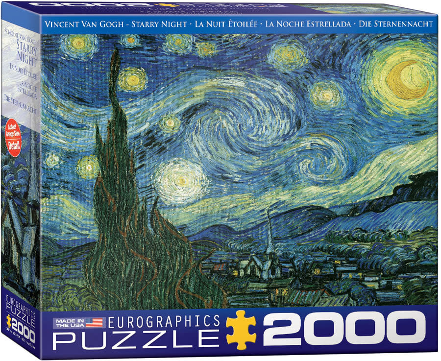 2000 - Starry Night (Van Gogh)