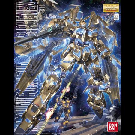 MG 1/100 - RX-0 Unicorn Gundam 03 Phenix