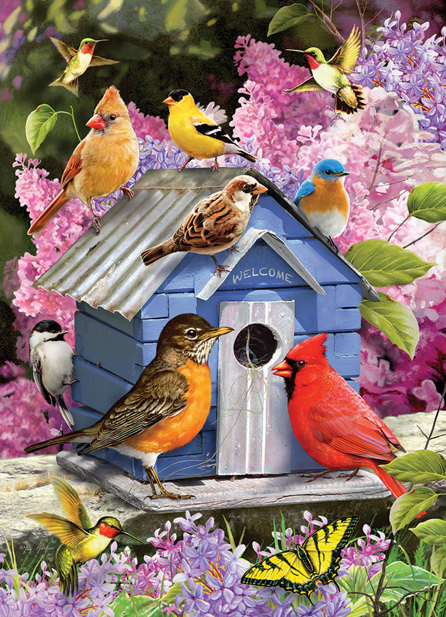 1000 - Spring Birdhouse