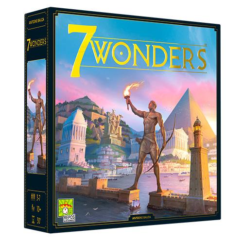 7 Wonders board game - new version