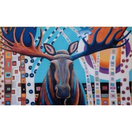 1000 - Canadian Collection - Winter Moose