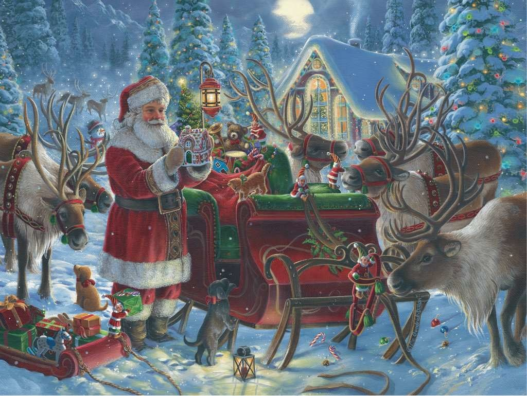 1000 - Packing the Sleigh