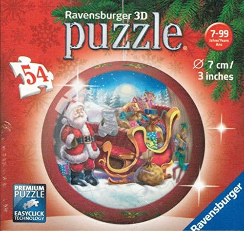 54 - 3D Christmas Puzzle Ball