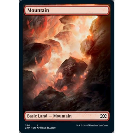 Mountain (380) - Full Art - Foil