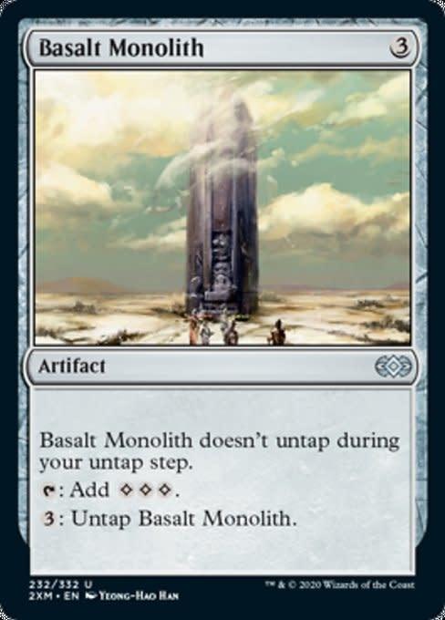 Basalt Monolith - Foil