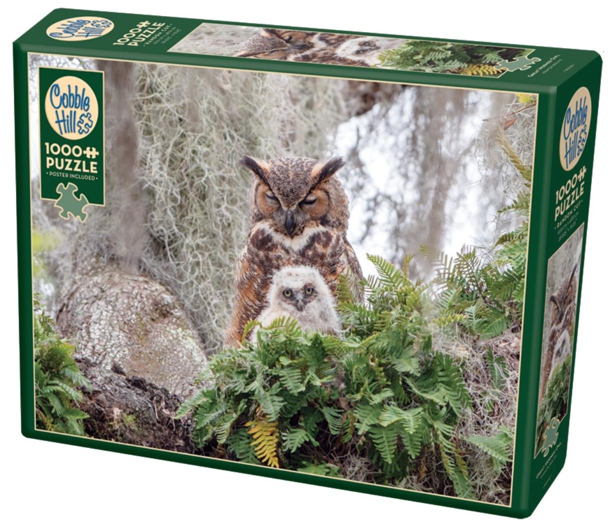 1000 - Great Horned Owl