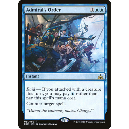 Admiral's Order