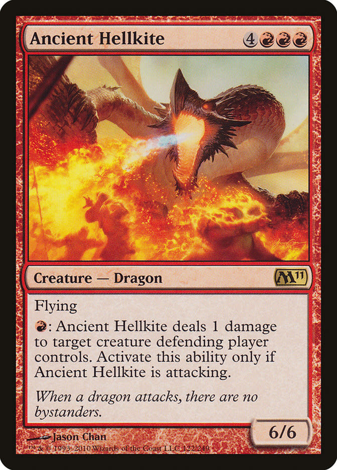Ancient Hellkite - Foil