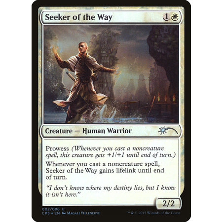 Seeker of the Way - Foil