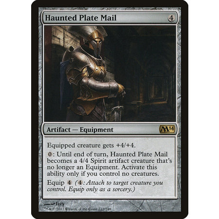 Haunted Plate Mail