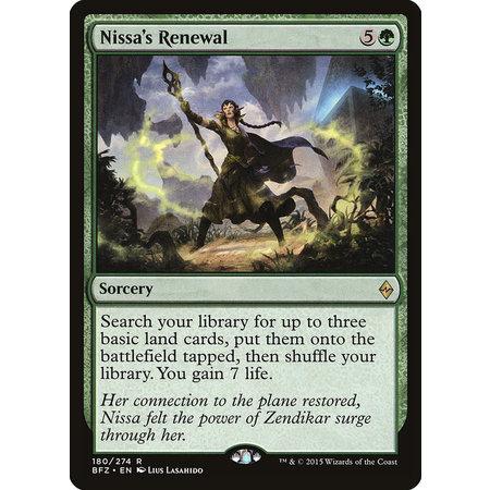 Nissa's Renewal - Foil