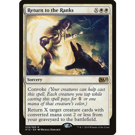 Return to the Ranks - Foil