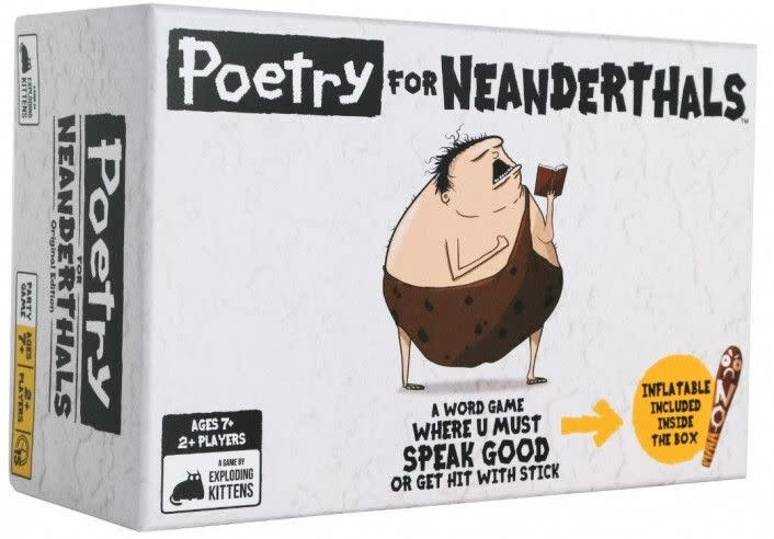 Poetry for Neanderthals card game