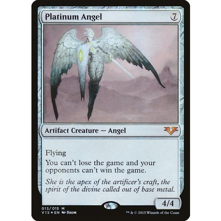 Platinum Angel - Foil