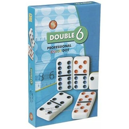 Dominoes - Double 6 'Color Dot'