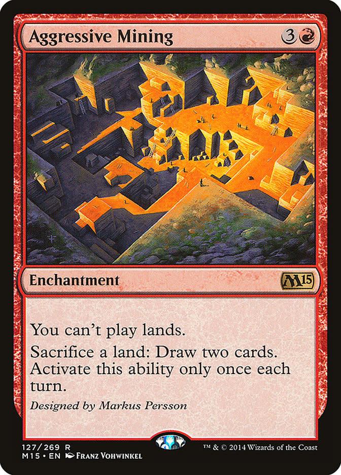 Aggressive Mining - Foil