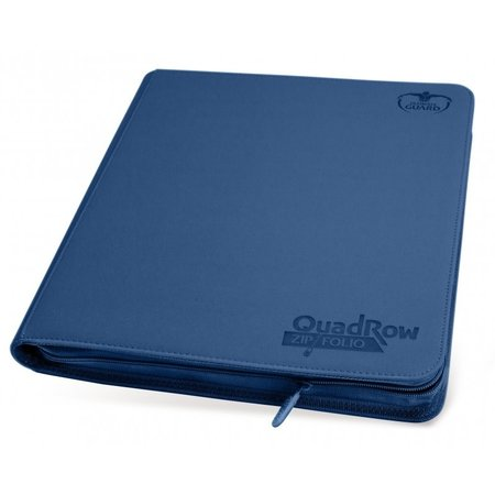 Quadrow Zipfolio Xenoskin Dark Blue