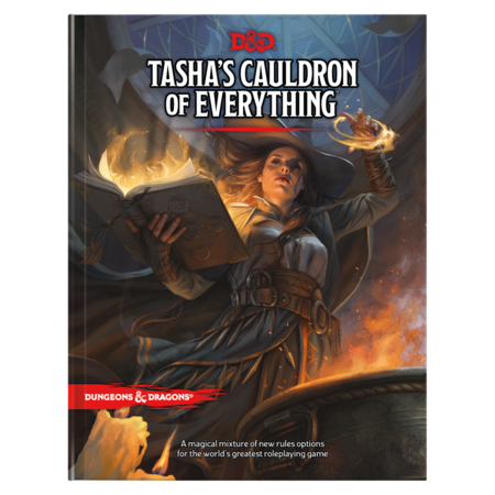 Dungeons and Dragons 5th Edition RPG: Tasha's Cauldron of Everything