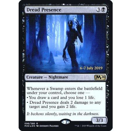 Dread Presence - Foil - Prerelease Promo