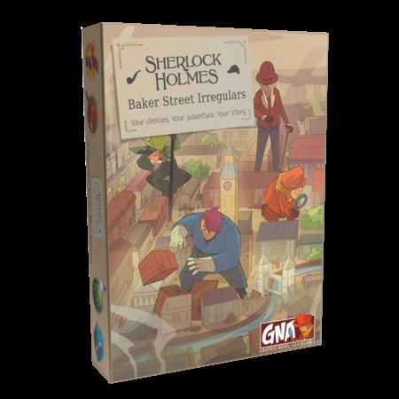 Graphic Novel Adventure - Sherlock Holmes: Baker Street Irregulars