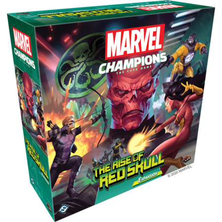 Marvel Champions: The Card Game - The Rise of the Red Skull Expansion