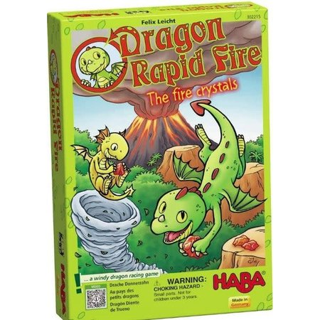 Dragon Rapid Fire: The Fire Crystals